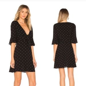 Polka Dot Mini Dress Free People